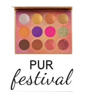 NWT (Retail $36)  PUR Festival Eyeshadow Palette